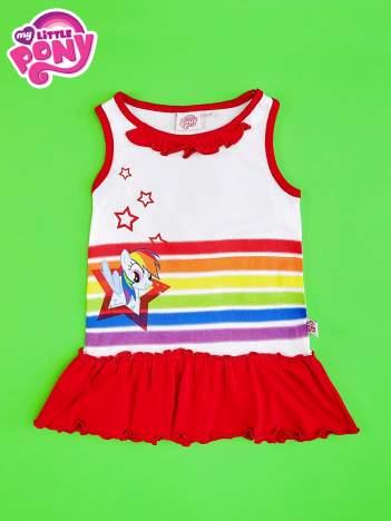 Czerwona tunika dla dziewczynki MY LITTLE PONY