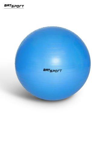 Niebieska duża piłka fitness