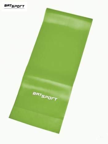 Zielona guma do ćwiczeń poziom średni