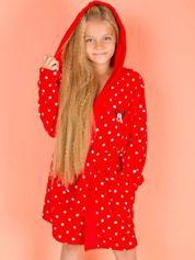 Czerwony szlafrok dla dziewczynki MINNIE MOUSE