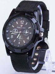 DLA NIEGO... Czarny zegarek męski ARMY