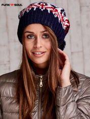 Ecu czapka w norweskie wzory FUNK N SOUL