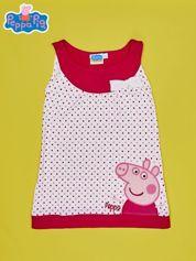 Fuksjowa sukienka dla dziewczynki ŚWINKA PEPPA
