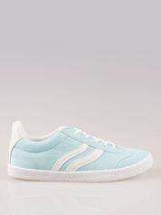 Jasnoniebieskie buty sportowe w stylu casual
