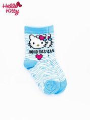 Niebieskie skarpetki dla dziewczynki HELLO KITTY