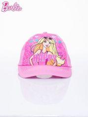Różowa czapka z daszkiem dla dziewczynki BARBIE