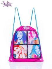 Żyworóżowy plecak worek DISNEY Violetta