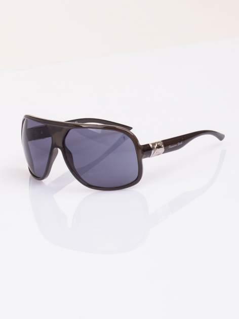 Duże okulary blogerek MUCHY w nowoczesnym stylu