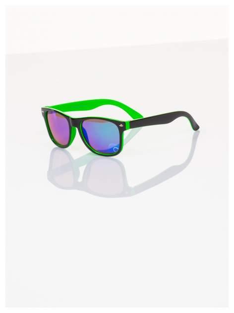 Dziecięce lustrzanki z filtrami UV-okulary z klasyczną oprawką WEYFARER NERD odporne na wyginania
