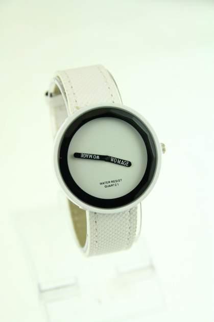 Biały zegarek damski na pasku