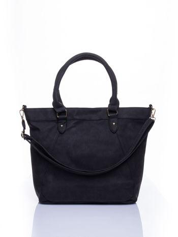 Czarna torba city bag na ramię