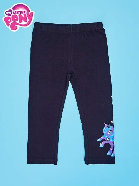 Czarne legginsy dla dziewczynki MY LITTLE PONY
