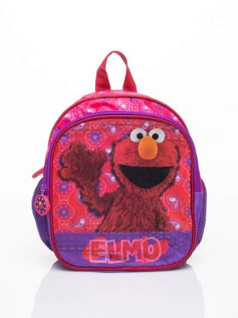 Fioletowy plecak na wycieczkę DISNEY Ulica Sezamkowa