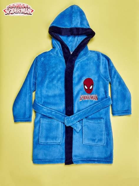 Niebieski chłopięcy szlafrok SPIDERMAN
