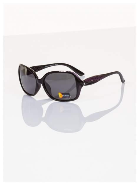 POLARYZACJA Przepiękne okulary z delikatnymi zdobieniami ażurowymi+GRATISY