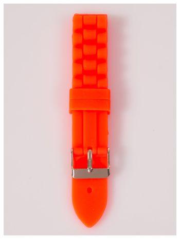 Pasek silikonowy do zegarka 18 mm