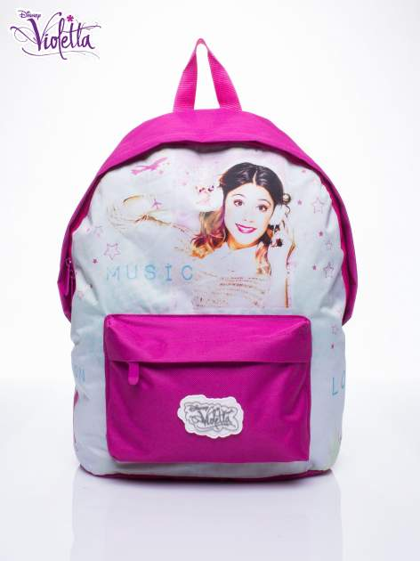 Różowy plecak szkolny DISNEY Violetta