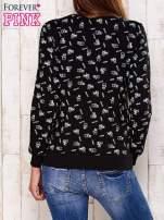 Czarna bluza motyw buldożków
