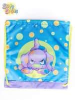 Niebieski plecak worek DISNEY Soft Spots