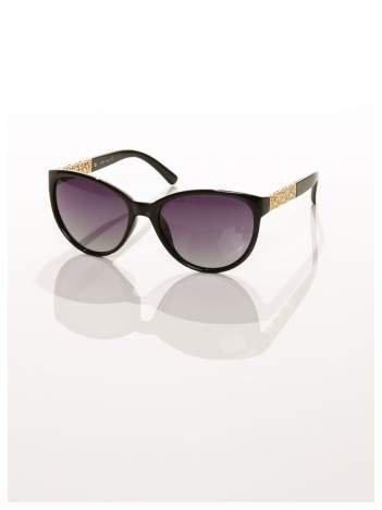 2016 HITEleganckie okulary w stylu MUCHY ze złotymi zausznikami-POLARYZACJA+GRATISY