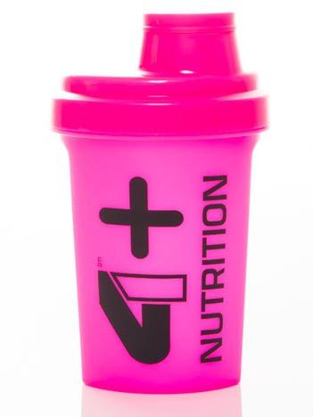 4+ Nutrition - Shaker 0,5l różowy