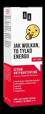 AA EMOJI Serum antybakteryjne przeciw niedoskonałościom 40 ml