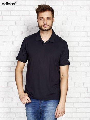ADIDAS Czarna koszulka polo męska