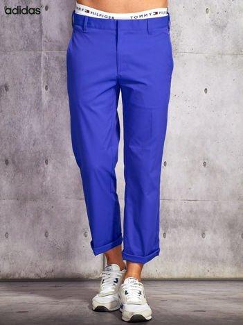 ADIDAS Fioletowe spodnie męskie