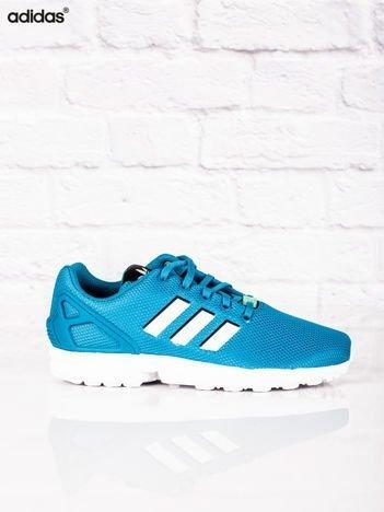ADIDAS Niebieskie damskie buty sportowe ZX FLUX J