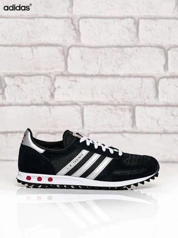 ADIDAS czarne buty z odblaskami La Trainer