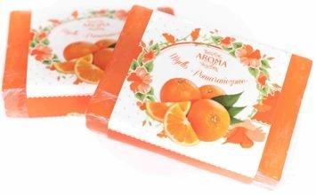 AROMA Soap NATURALNE Mydło POMARAŃCZA 80 g