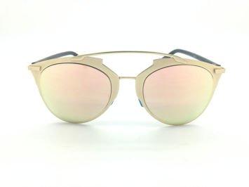 ASPEZO Okulary przeciwsłoneczne damskie różowe MONTREAL. Etui skórzane, etui miękkie oraz ściereczka z mikrofibry w zestawie