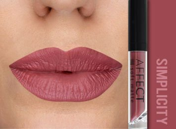 Affect Pomadka w płynie Liquid Lipstick Soft Matte Simplicity 5 ml Affect