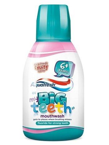 Aquafresh Płyn do płukania ust dla dzieci My Big Teeth 6+ Fruity 300 ml