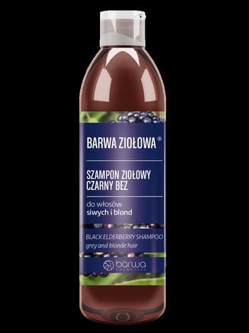 BARWA Ziołowa Szampon do włosów Czarny Bez - włosy blond i siwe 250 ml
