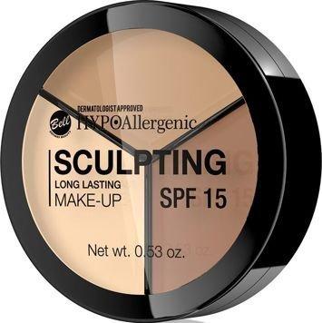 BELL HYPOAllergenic Hypoalergiczny podkład do konturowania twarzy Long Lasting Sculpting Make-Up 02