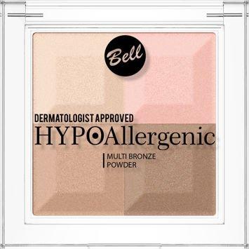 BELL HYPOAllergenic Hypoalergiczny puder brązująco-rozświetlający Multi Bronze Powder 02