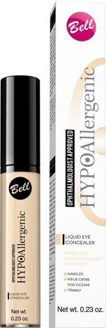 BELL HYPOallergenic Korektor w Płynie pod Oczy Liquid Eye Concealer 01