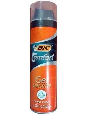 BIC Żel do golenia Comfort Sensitive  200 ml