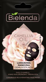 BIELENDA CAMELLIA OIL Luksusowa maseczka odmładzająca w płacie