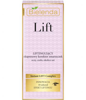 BIELENDA LIFT Liftingujący ekspresowy korektor zmarszczek 15 ml