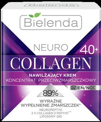 BIELENDA NEURO COLLAGEN Nawilżający krem – koncentrat przeciwzmarszczkowy 40+ dzień/noc 50 ml