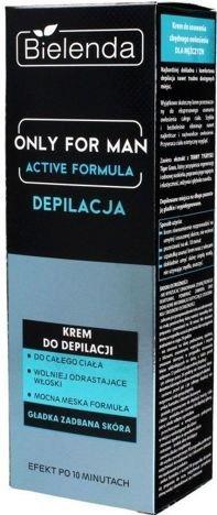 BIELENDA ONLY FOR MEN Męski krem do depilacji ACTIVE FORMULA 100ml