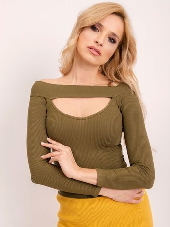 BSL Khaki bluzka damska