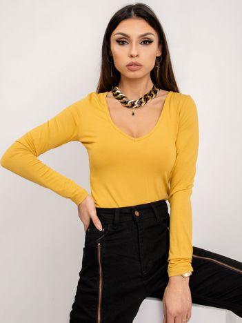 BSL Żółta bluzka basic