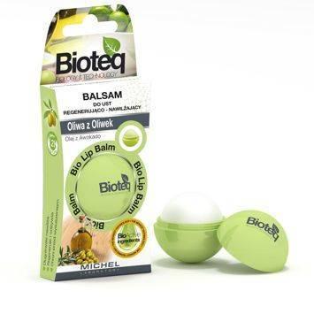 Balsam do ust Regenerująco - Nawilżający Oliwa z Oliwek BIOTEQ