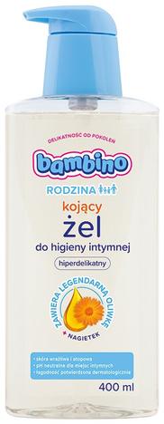 Bambino Rodzina Żel do higieny intymnej kojący Nagietek 400 ml