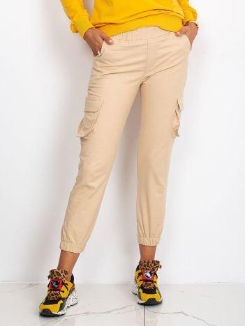 Beżowe spodnie Sally
