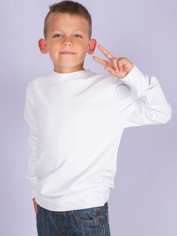 Biała bluza młodzieżowa