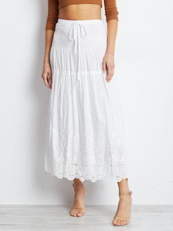 Biała spódnica Enact